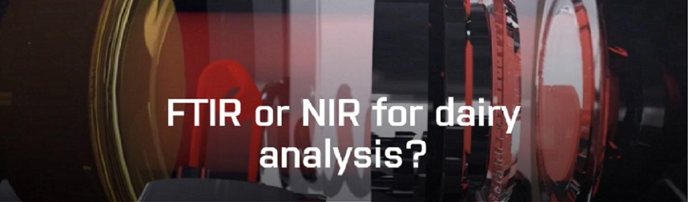 FTIR or NIR for dairy analysis?
