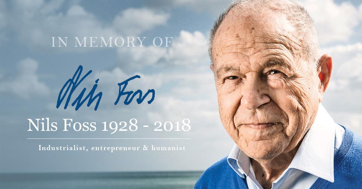 In memory Nils Foss (1928-2018)