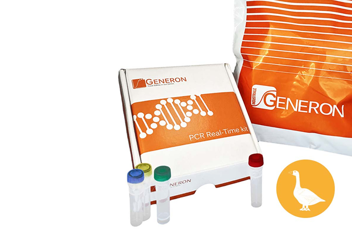 VERYfinder food fraud prevention Real-time PCR kit – GOOSE traces quantification
